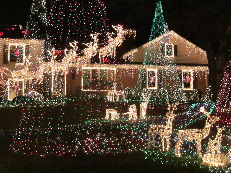 best holiday lights in columbia 2014 columbia md patch