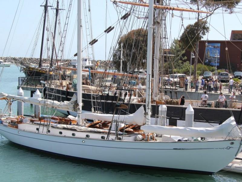 david crosby u0026 39 s schooner arrives at dana point harbor