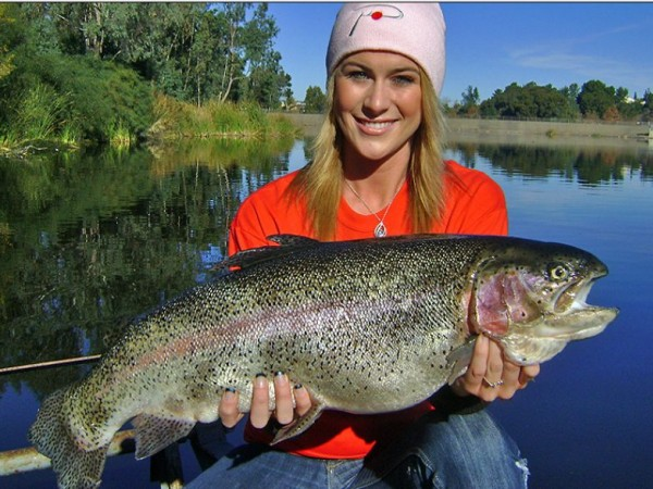 2k pounds rainbow trout stocked in laguna niguel lake for Trout fishing southern california