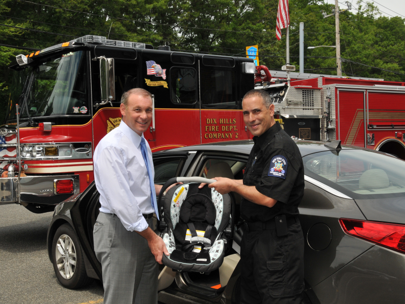 Dix Hills Fire District Offering Free Car Seat Inspections 0