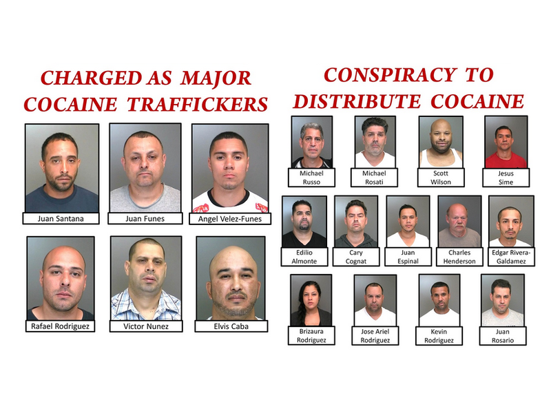 Authorities Reveal Names Details Of Long Island Cocaine