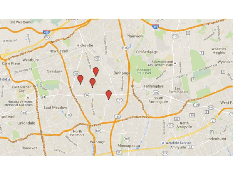 map sex offender registry new york in Yonkers