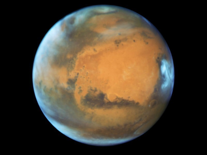 Look Up: Mars Opposition Makes The Red Planet Its Brightest in a Decade