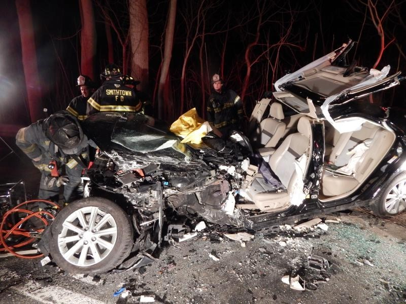 Woman Arraigned on Vehicular Homicide Charge in Smithtown Crash   Smithtown, NY Patch