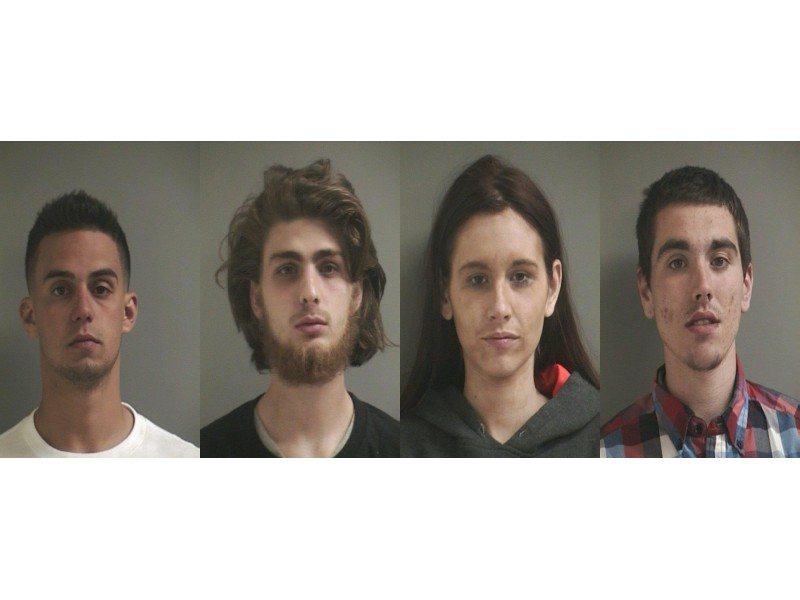 4 arrested on heroin charges in levittown cvs parking lot