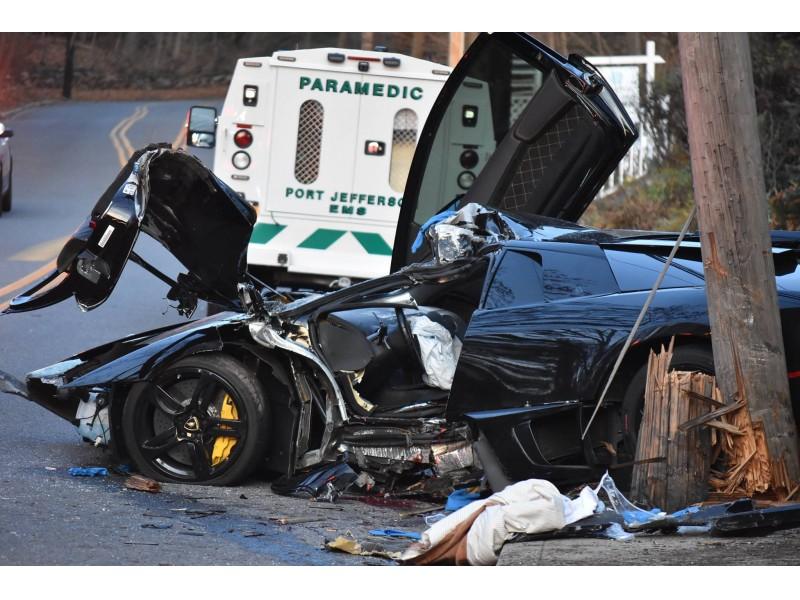 Man Dies After Crashing Lamborghini Into Pole On Long