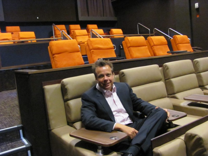 Gold class cinemas at redmond town center relaunches as for Woodinville theater