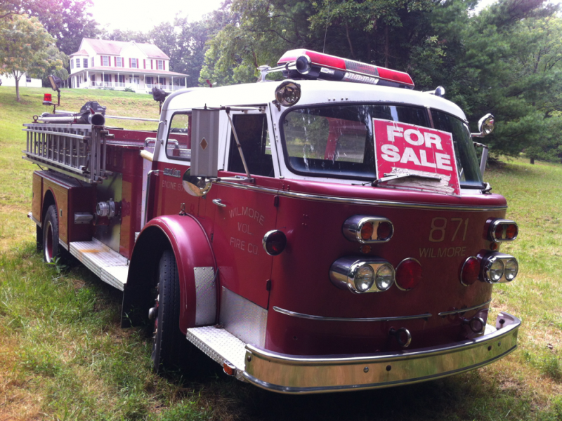 There Is A 1961 Red American LaFrance Fire Truck For Sale In Clifton ...