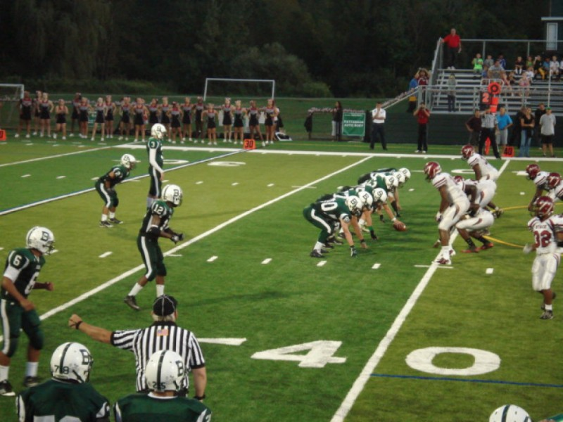 Bears Open Season with Loss to Nyack, Moment of Silence for 9/11