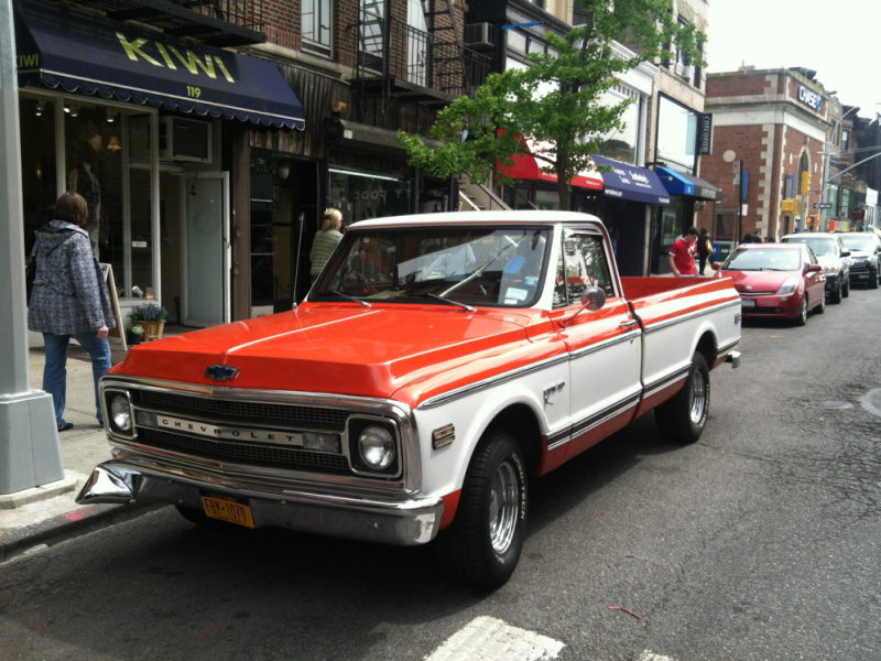 1970 chevy cst 10 pickup truck for sale park slope ny patch. Black Bedroom Furniture Sets. Home Design Ideas