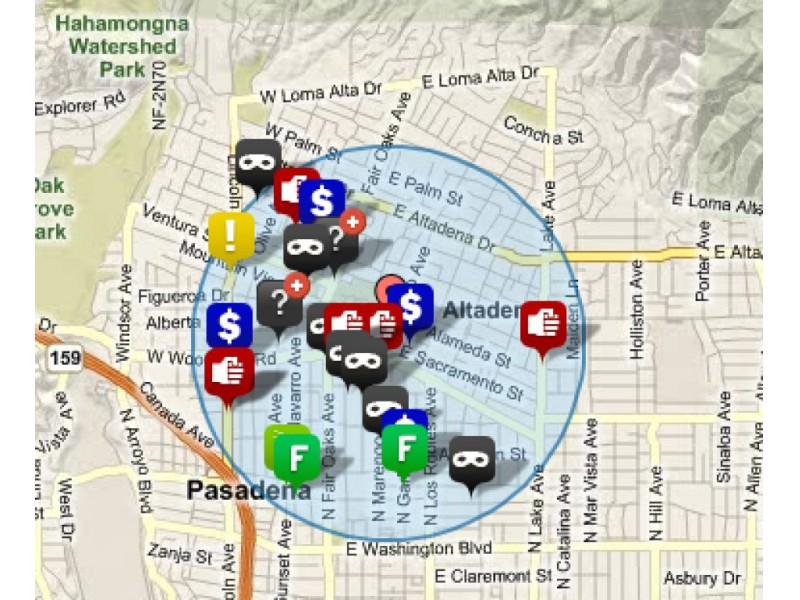Image result for pasadena crime