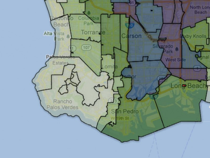 Palos Verdes Zip Code Map.Map Pollution In Palos Verdes Palos Verdes Ca Patch