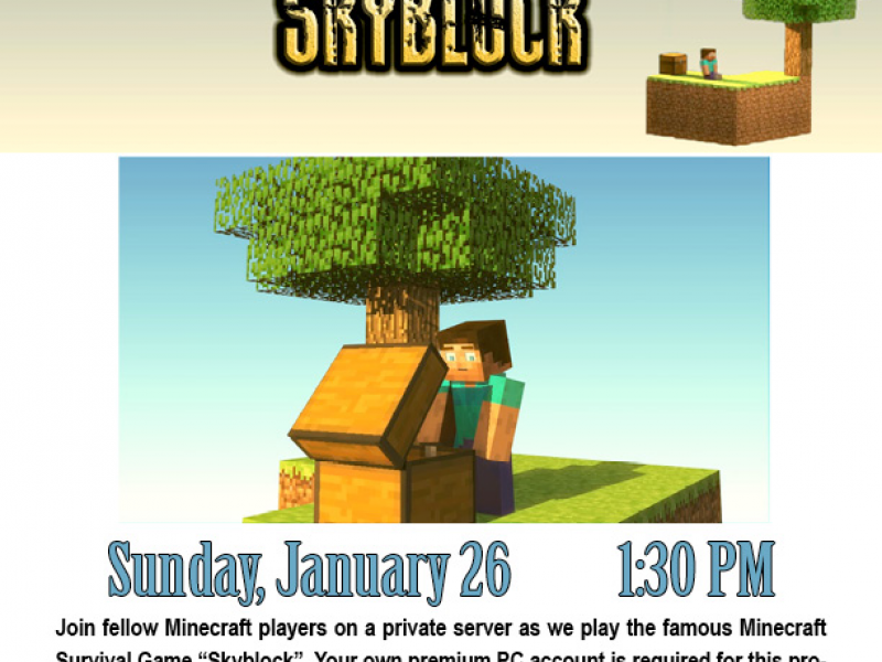 how to play skyblock on minecraft