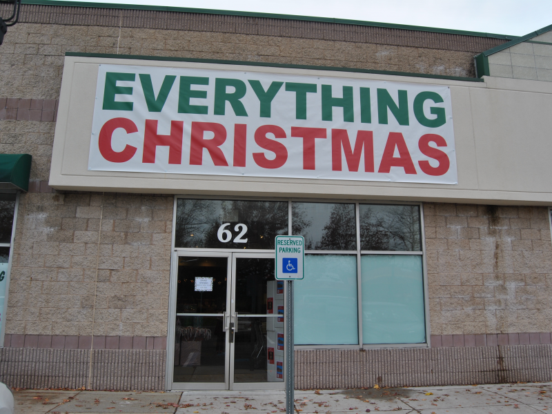 Christmas Store Opens Friday In Commack