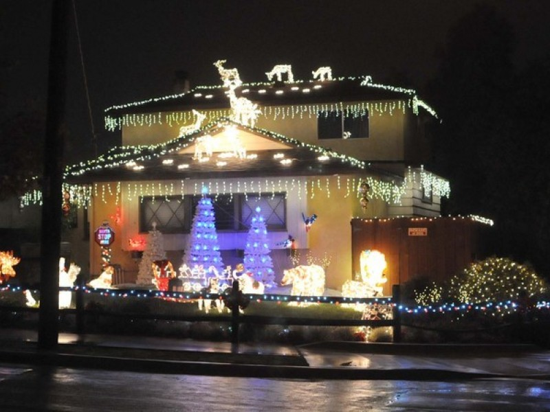 Lights Galore Near and Far for Christmas Delight Encinitas CA Patch