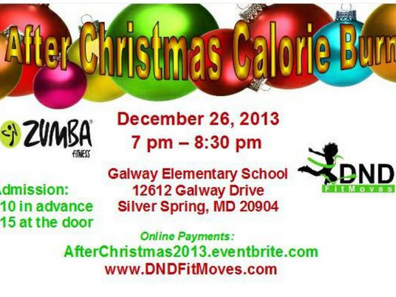 After Christmas Zumba Calorie Burn | Silver Spring, MD Patch