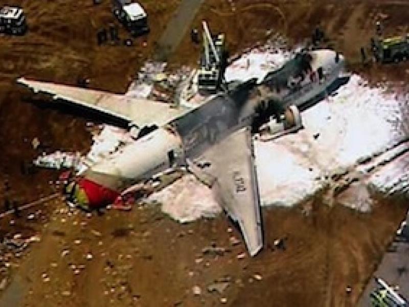 Novato Man on Tarmac as Asiana Airlines Plane Crashes