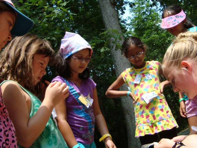 Camp Mariposa Introduces Girls To Girl Scouts  Herndon -6921