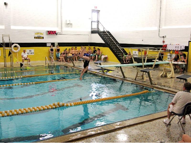 Middle school swim team finishes undefeated sachem ny patch - Long island swim school garden city ...