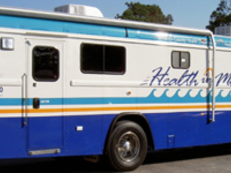 Mobile Health Services Offered in April