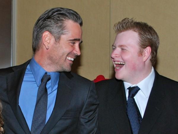 Colin Farrell Shares S...