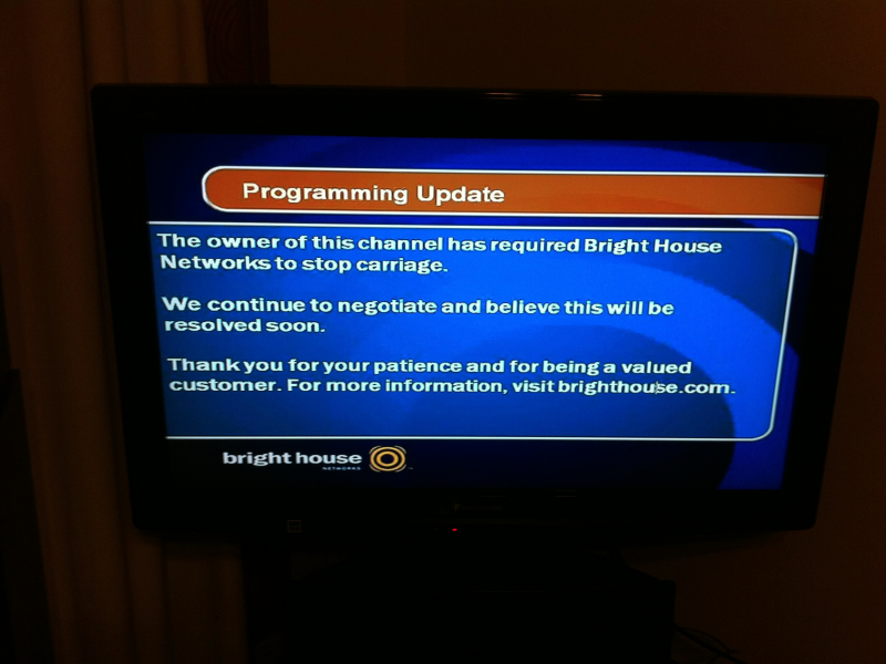 Why No CBS Channels On Bright House Cable?