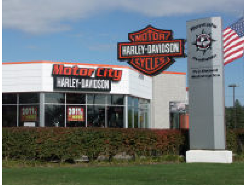 The Last-Minute Locavore: Motor City Harley Davidson in Farmington