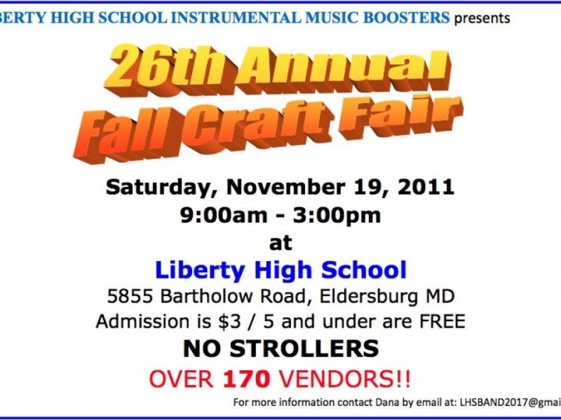 Liberty High School Craft Fair