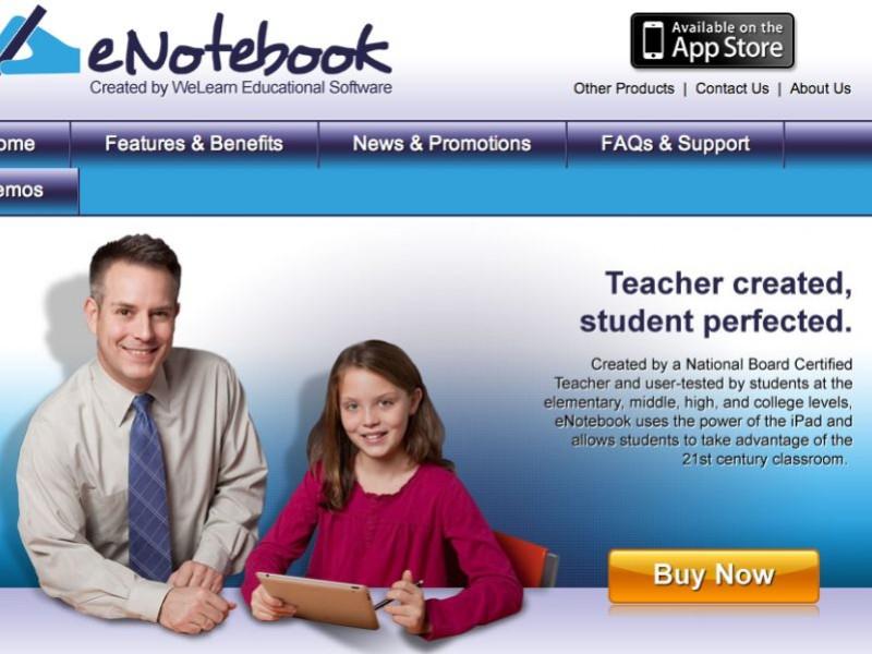 Liberty Math Teacher Launches eNotebook App