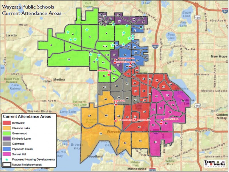 Wayzata School District Map This Week: Public Meetings About Wayzata School Boundaries  Wayzata School District Map