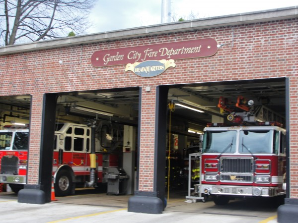 Garden City Firefighters Assist At School Fire Garden City Ny Patch