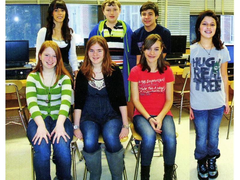 garden city middle school literary magazine receives highest award - Garden City Middle School