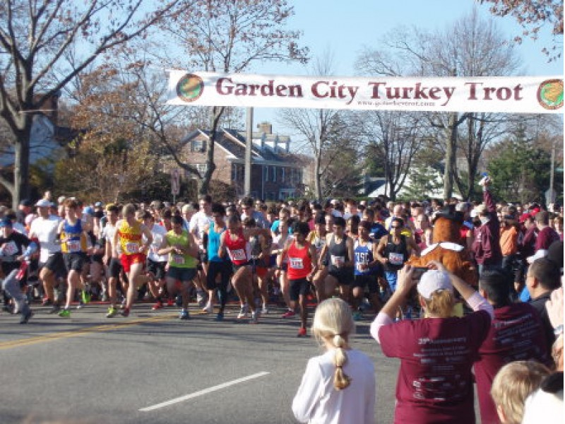 garden city turkey trot sets yet another attendance record garden city ny patch - Garden City Turkey Trot