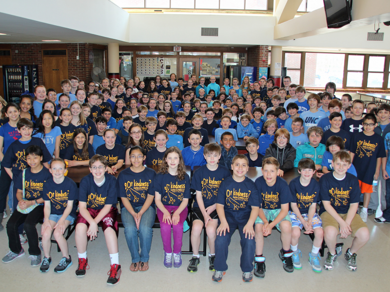 garden city middle school students pay it forward - Garden City Middle School