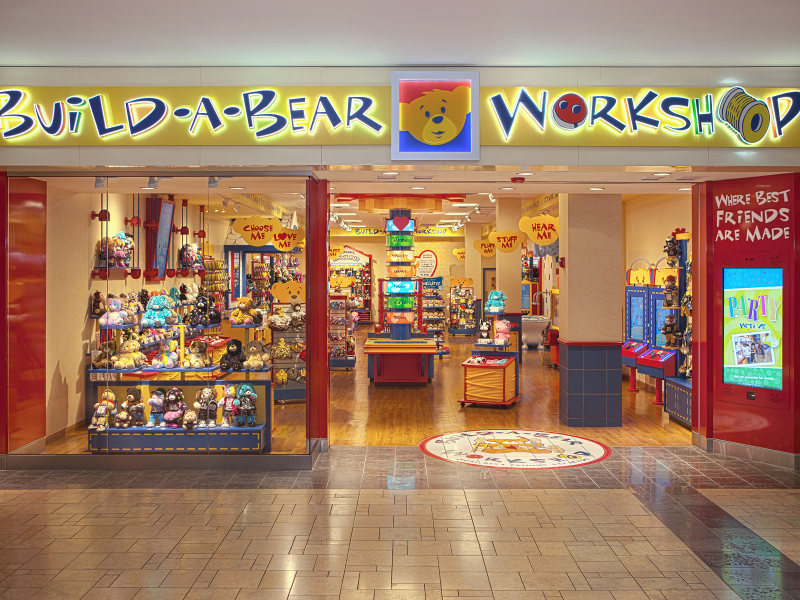 Newly Imagined Build A Bear Work Now Open Garden City Ny Patch