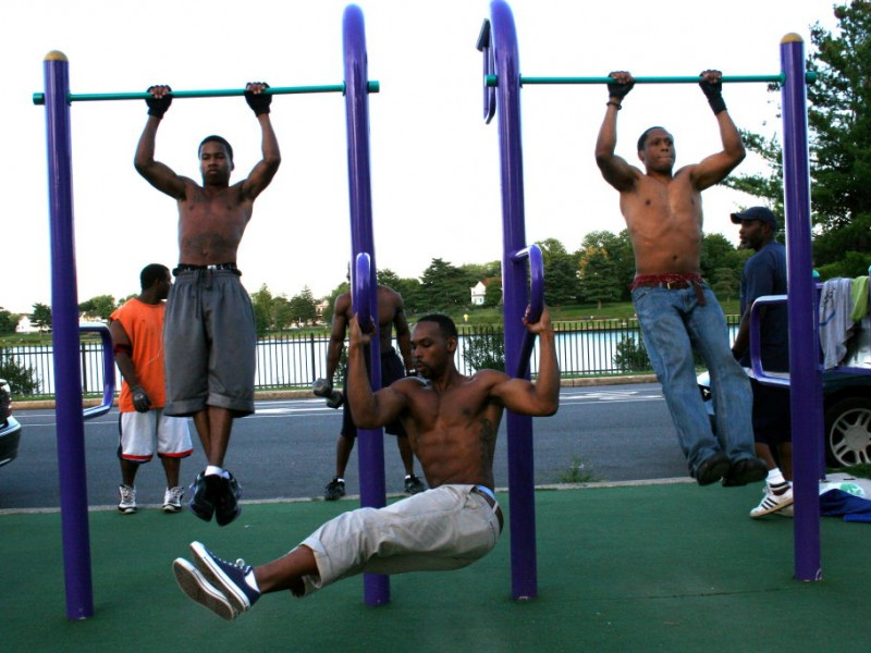 Baltimore S Monkey Bar Workout Is No Joke Towson Md Patch