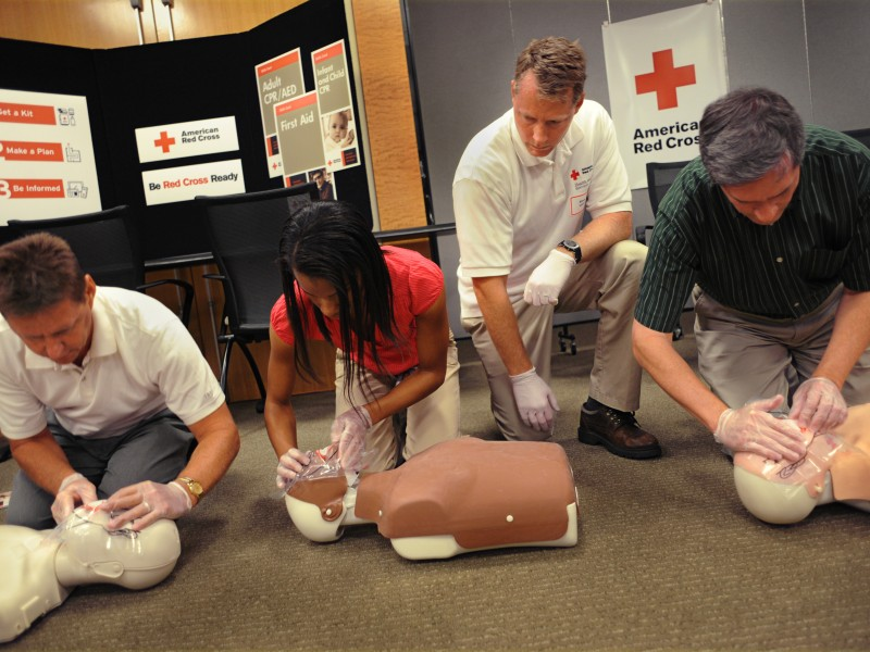 Red Cross First Aid And Cpraed Certification Class Morristown Nj