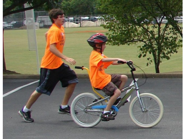 essay on teaching someone to ride a bike