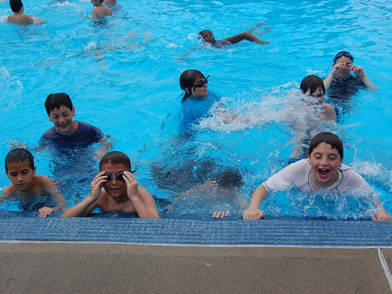 Snapshot Fifth Graders Promotion Day Pool Party