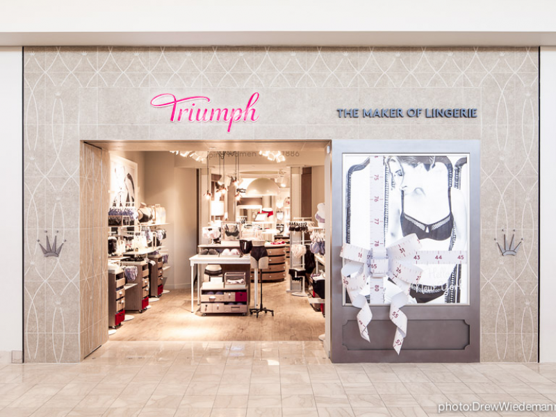 Triumph Opens First Shop in U.S. at Whitman Mall