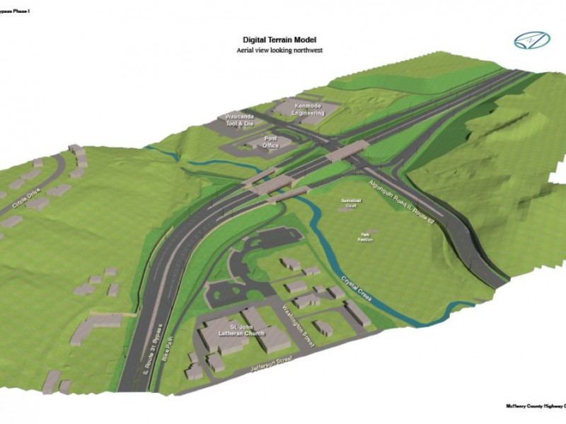 algonquin  idot finalizing design plans for western bypass