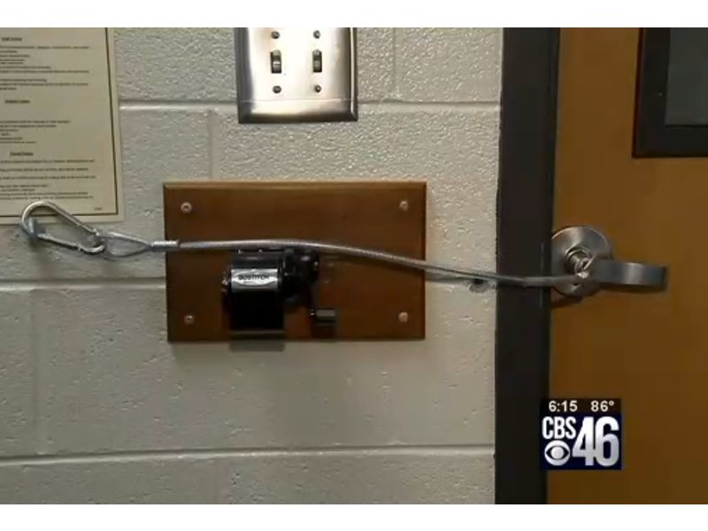 Modular Classroom Meaning ~ Georgia teacher s invention designed to keep bad guys out