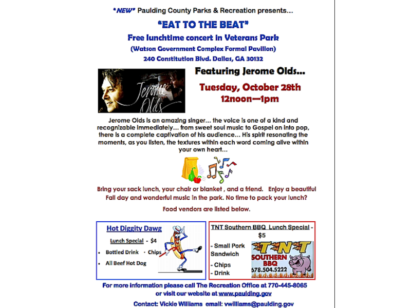 Eat To The Beat At Veterans Park In Dallas Dallas Ga Patch