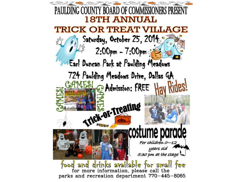 This Week In Dallas Hiram Trick Or Treat Village Comes To Earl