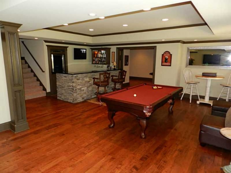 Home Spotlight Open Floor Plan Finished Basement 3 Car