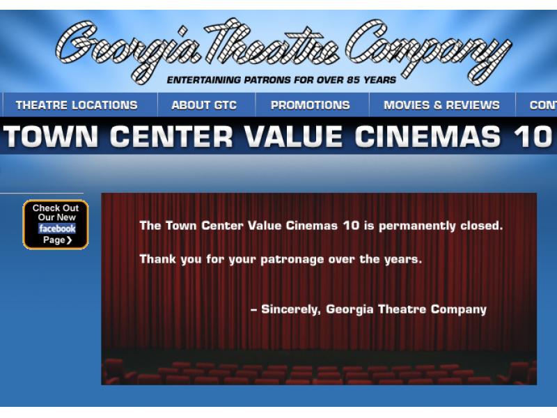 Town Center Value Cinema Lawrenceville Ga