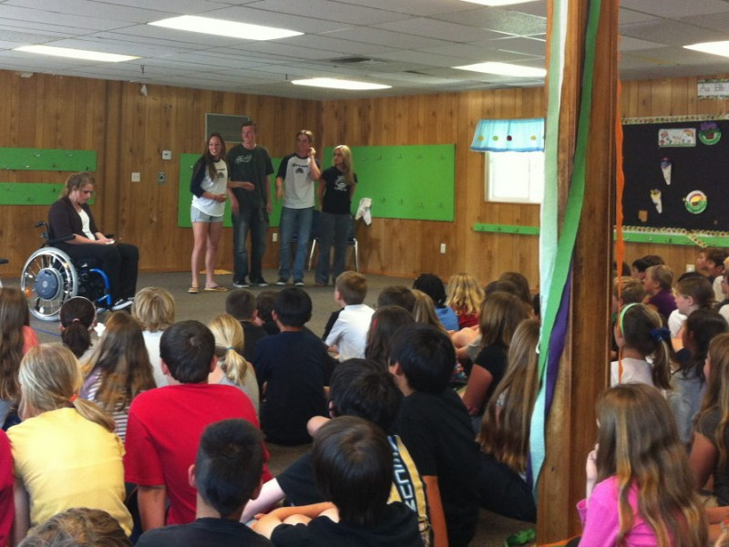 Elementary Students Get Lessons In Anti Bullying Scotts Valley Ca
