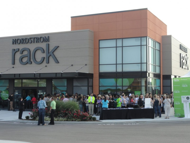 nordstrom rack opens to hundreds thursday morning on manchester ballwin mo patch