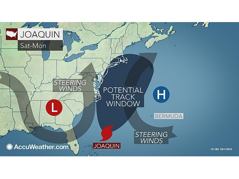 weather alert nor easter conditions in n j as hurricane joaquin
