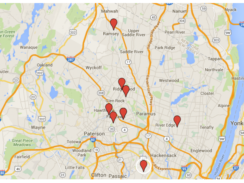 New Milford Area Sex Offender Map Homes To Watch At Halloween New